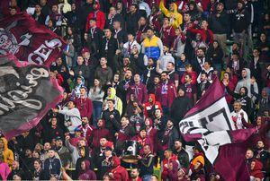 S-au ținut de cuvânt » Rapid, abandonată de galerie la meciul cu CFR Cluj