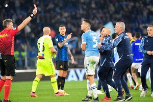 Scene uluitoare după Lazio - Inter! Ce a făcut colegul lui Ștefan Radu la final » Arbitrul l-a eliminat instant
