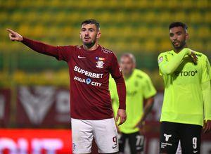 Ce a spus după meci Adrian Bălan, eroul Rapidului cu CFR Cluj