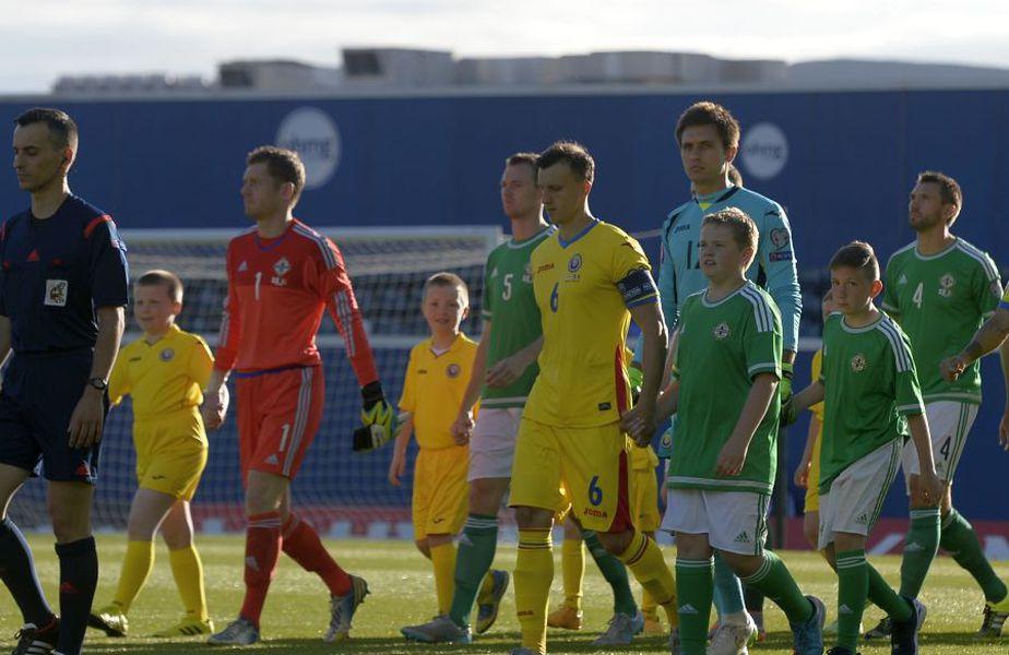Din trei partide jucate la Belfast, România nu a câștigat încă, obținând doar un punct