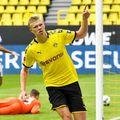 Borussia Dortmund refuză să respecte carantina impusă lui Erling Haaland de federația norvegiană.  foto: Guliver/Getty Images