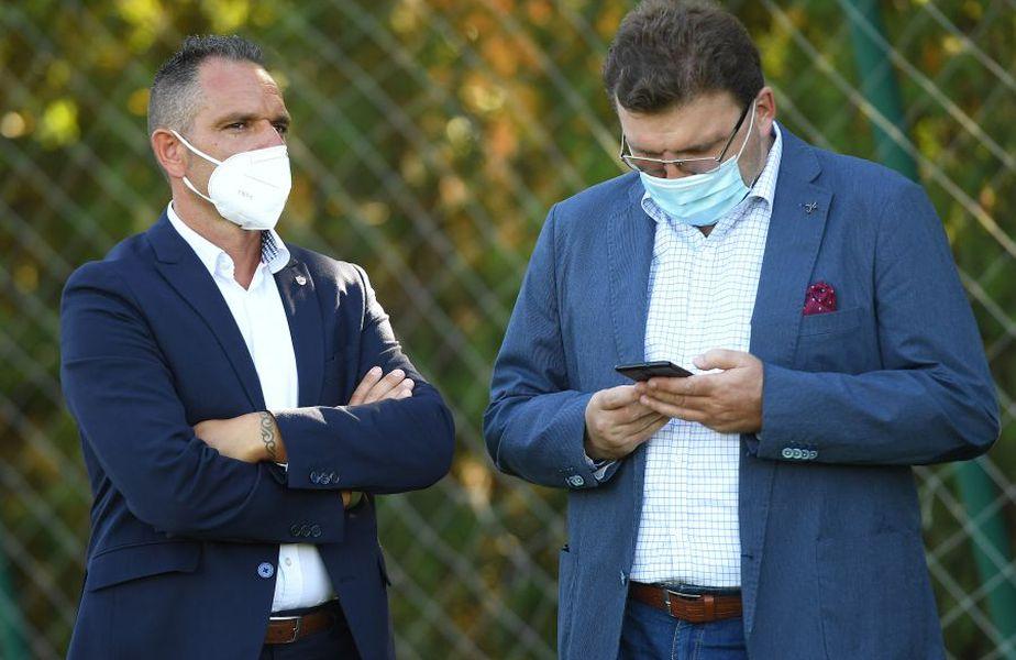 Dorin Șerdean (în dreapta), alături de Pablo Cortacero