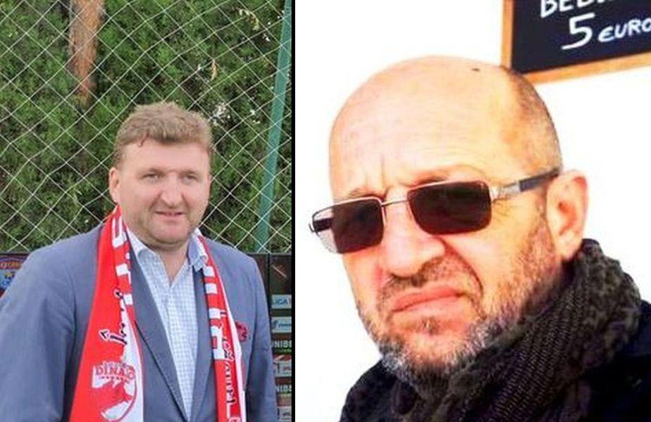 Dorin Șerdean (stânga) și Toma Săpașu