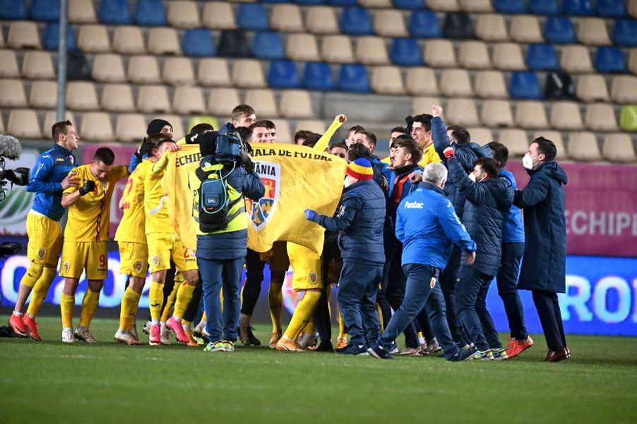 Bucurie România U21 - Danemarca U21 1-1