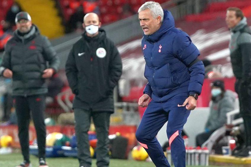 Jose Mourinho, în Liverpool - Tottenham 2-1 // foto: Guliver/gettyimages