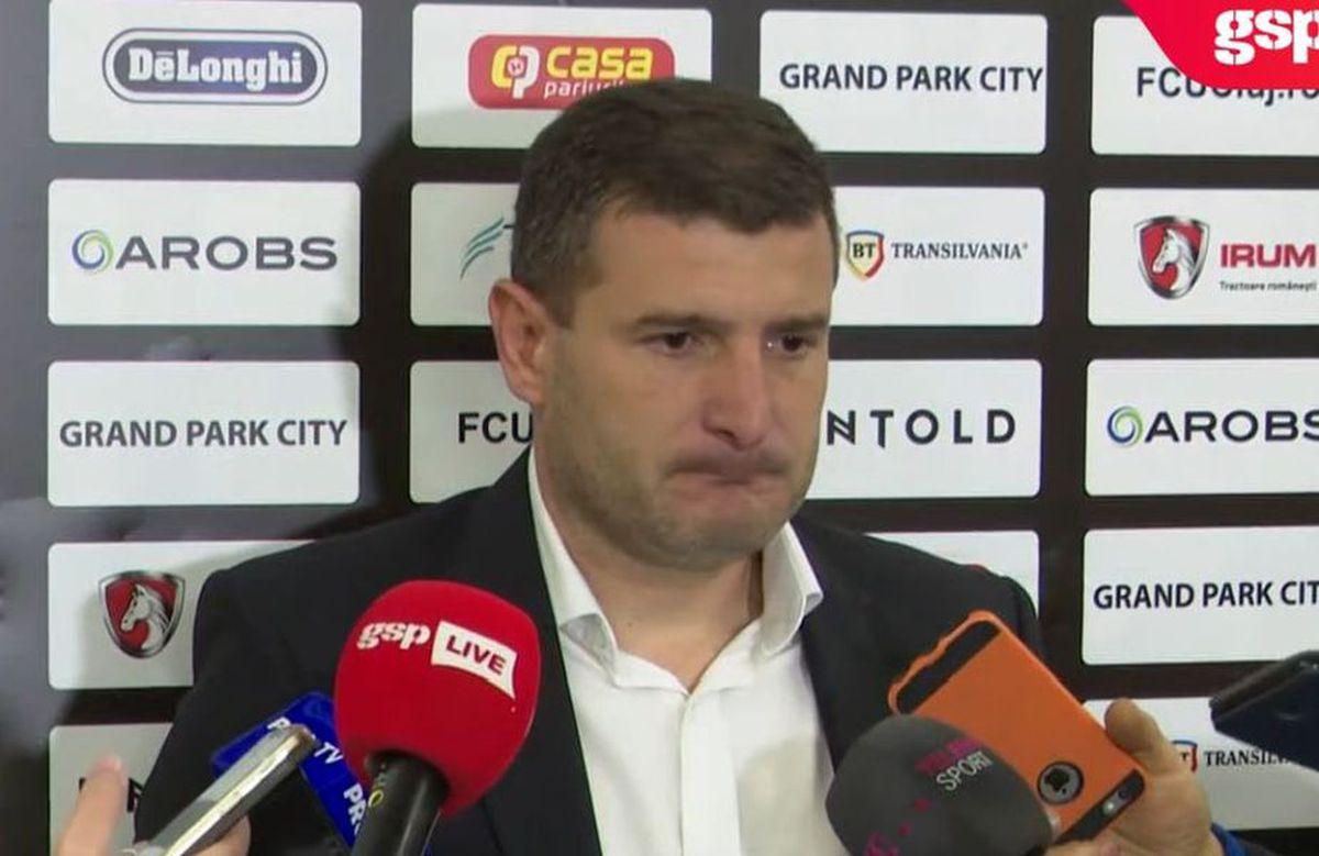 """Sepsi - UTA 3-0. Laszlo Balint, după încă o înfrângere umilitoare: """"Ăștia suntem! Ai mei s-au plimbat pe teren"""" + ce a spus Leo Grozavu"""