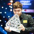 Chinezul Yan Bingtao, 20 de ani, a produs surpriza la Masters, după ce l-a învins în finală pe mult mai experimentatul scoțian John Higgins, foto: Imago