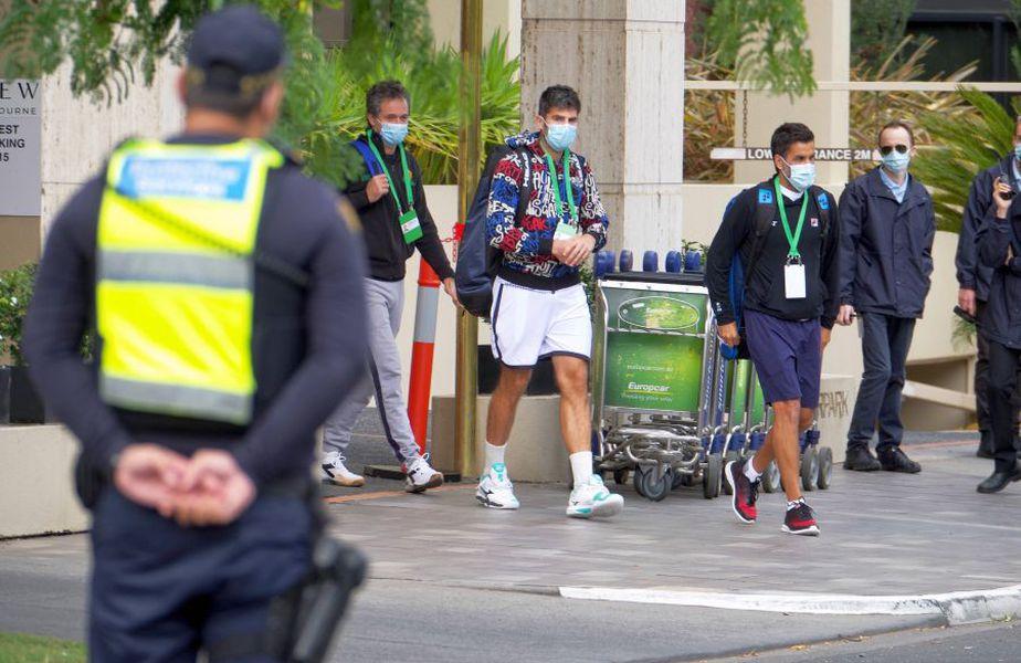 Pandemia provoacă mari bătăi de cap la Australian Open 2021 / Sursă foto: Imago Images