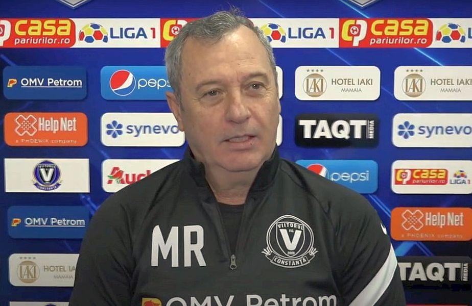 Mircea Rednic, antrenor Viitorul