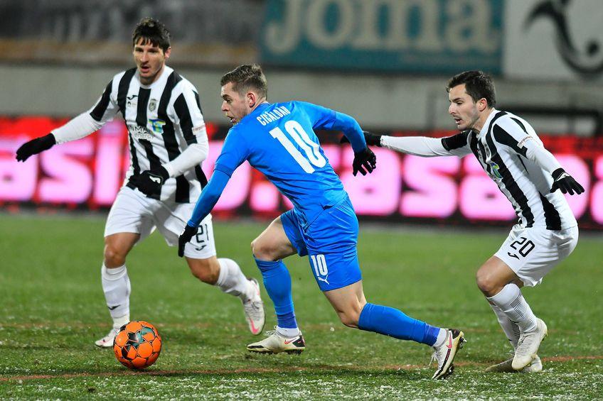 Astra și Craiova au remizat, scor 1-1, în runda cu numărul 17 din Liga 1.