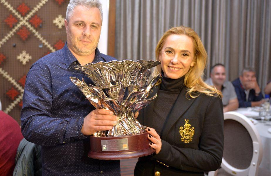 Marius Șumudică, alături de soția sa
