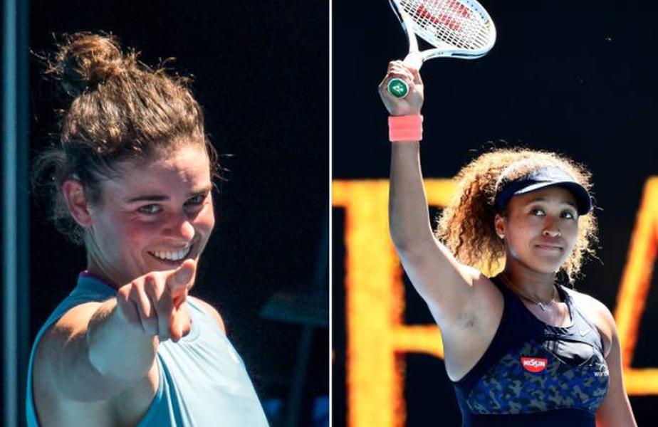 Jennifer Brady (25 de ani, 24 WTA) - Naomi Osaka (23 de ani, 3 WTA) este finala de pe tabloul feminin Australian Open 2021! @FOTO: Twitter