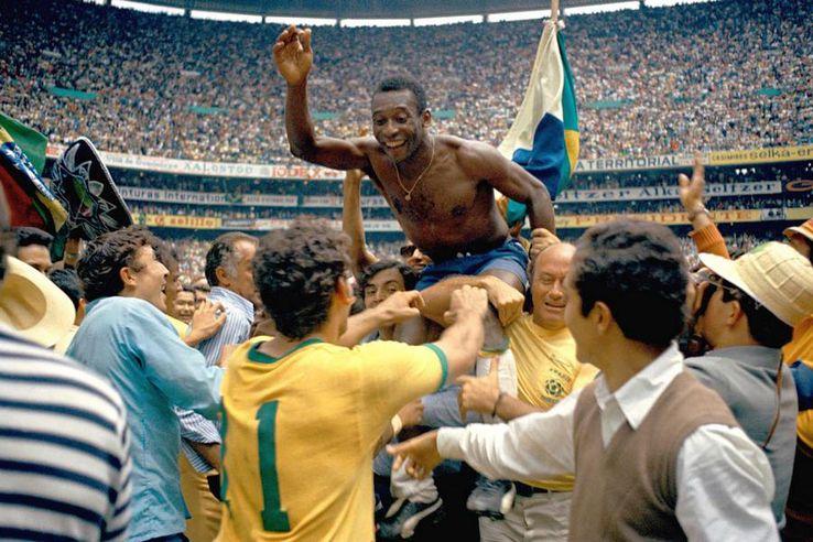 Pele a fost unul dintre cei mai iubiti fotbalisti din lume