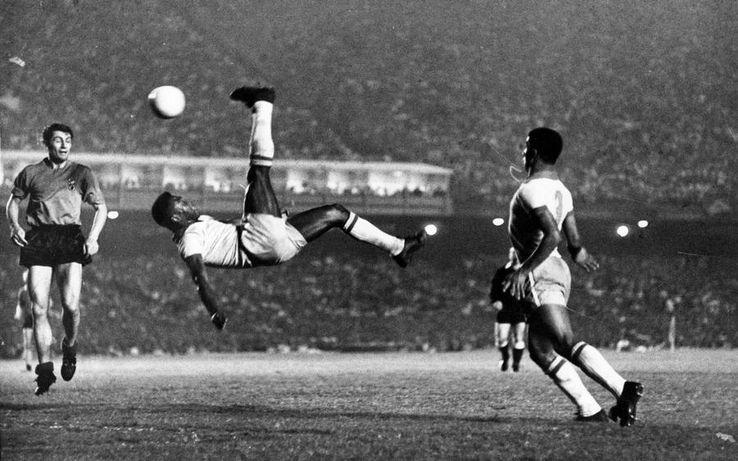 Un gol superb marcat de Pele