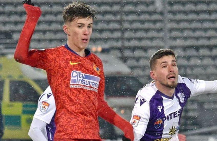 Octavian Popescu e noul puști-minune de la FCSB
