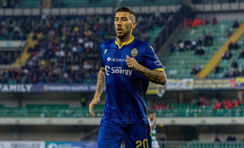 Mattia Zacagni este ultimul fotbalist din Serie A testat pozitiv cu COVID-19 // Foto: Facebook @Verona