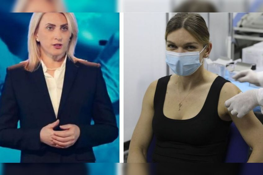 Simona Halep s-a vaccinat împotriva COVID-19