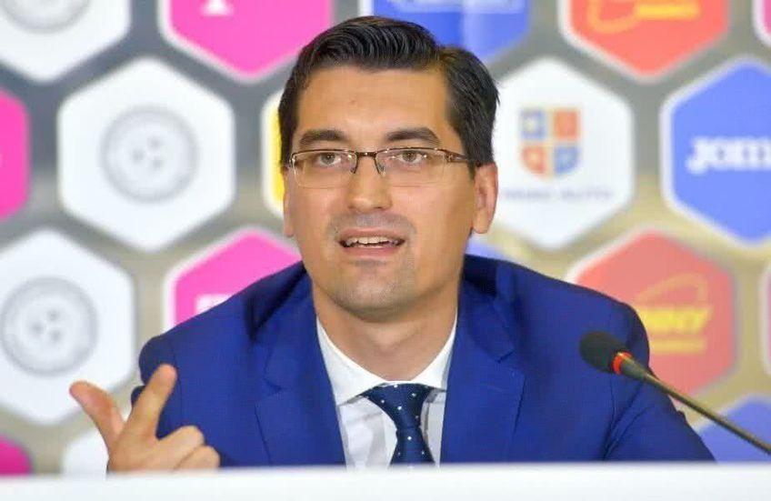 Răzvan Burleanu (36 de ani), președintele Federației Române de Fotbal, spune că s-a ajuns la un acord privind implementarea sistemului VAR în Liga 1.