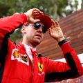 Sebastian Vettel în Australia, înaintea Marelui Premiu care a fost anulat Foto Guliver/GettyImages