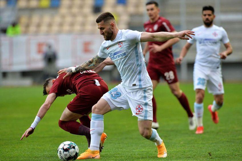 FCSB și CFR Cluj sunt favoritele la câștigarea titlului în Liga 1. FOTO: Cristi Preda (GSP)