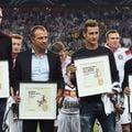 Per Mertesacker, Hans Flick, Miroslav Klose și Philip Lahm FOTO Guliver/Gettyimages