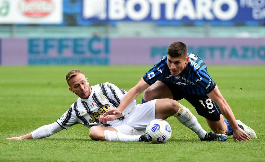 Campioana Juventus a pierdut deplasarea cu Atalanta, scor 0-1, și are emoții în privința locurile de Liga Campionilor.