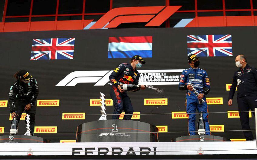 Max Verstappen, 23 de ani (Red Bull), a câștigat Marele Premiu de Formula 1 al regiunii Emilia-Romagna.