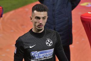 Vlad, accidentare înainte de FCSB - Botoșani! Decizia luată de staff