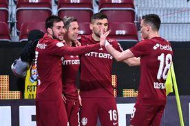 CFR Cluj - Clinceni 3-0 » Campioana e complexul Academicii! Clasamentul actualizat