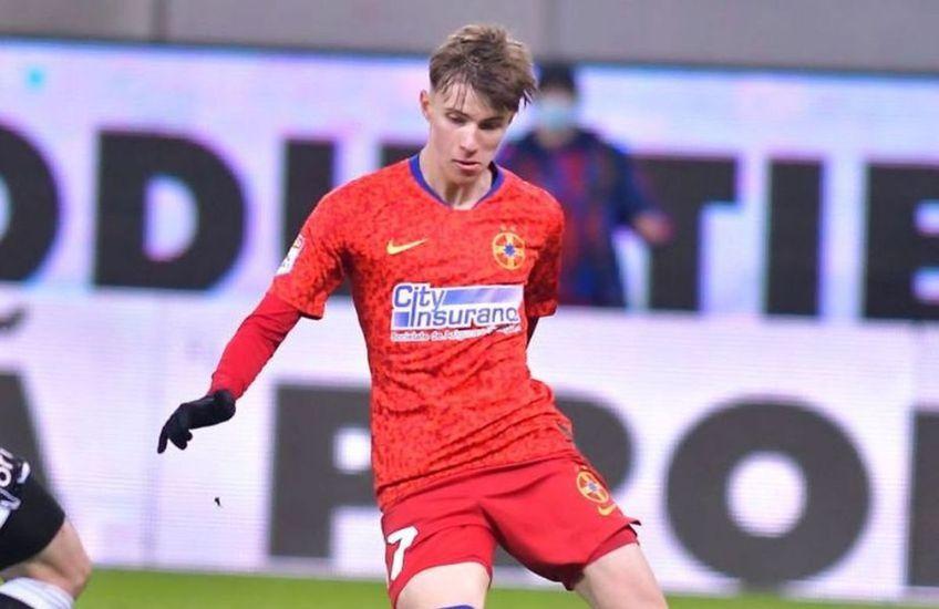 FCSB a învins-o pe FC Botoșani, 2-1, în prima rundă din play-off. Octavian Popescu, autorul unui eurogol, afirmă că s-a inspirat de la Neymar, starul lui PSG.