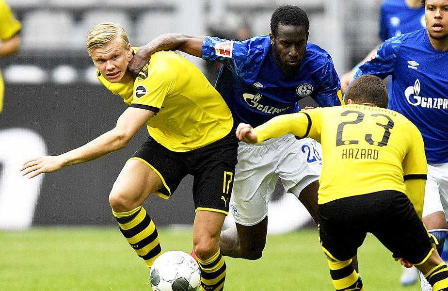 Erling Haaland a dat primul gol de la reluarea Bundesligii, foto: Guliver/gettyimages