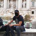 Francesco Totti alături de soția sa, Ilary // sursă foto: Instagram @ francescototti