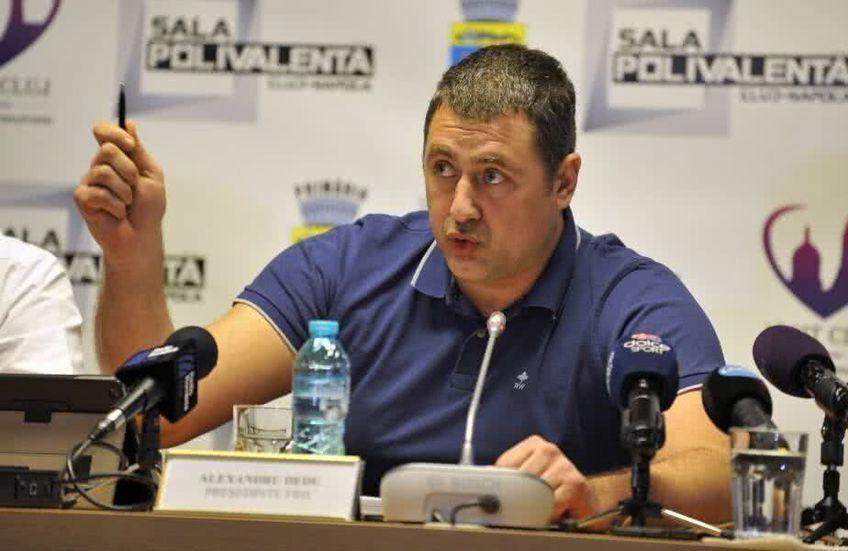"""Președintele Dedu nu a ținut cont de părerea președinților din handbalul masculin. """"Nu a vrut să dea titlul celor de la Dinamo!"""", vin acuzele din Ștefan cel Mare."""