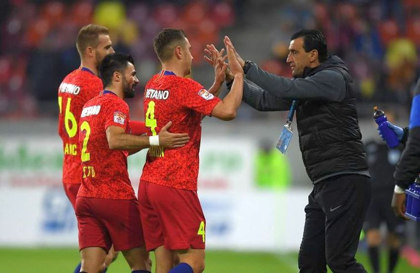 Valentin Crețu a suferit o accidentare la antrenamentul lui FCSB