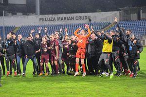 FC Botoșani - CFR Cluj 0-1 » CFR F4NTAS7IC! Clujenii au cucerit al 4-lea titlu consecutiv și al 7-lea din istorie!