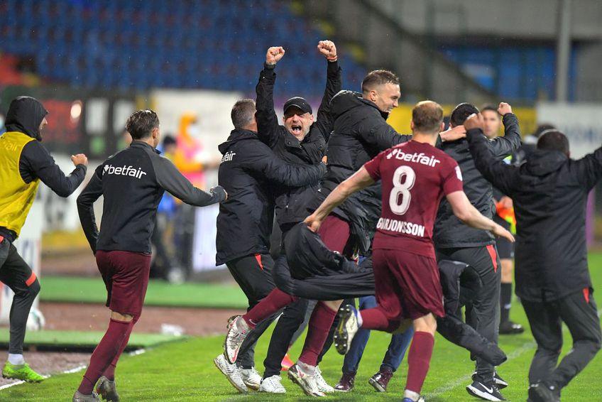 CFR Cluj a cucerit al 4-lea titlu consecutiv în Liga 1, după victoria cu FC Botoșani, scor 1-0. Edi Iordănecsu (41 de ani) a oferit un mesaj interpretabil în privința viitorului său.