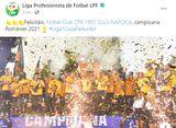 LPF a comis-o! 🤦♂️ » Gafă antologică în mesajul de felicitare pentru campioana CFR Cluj