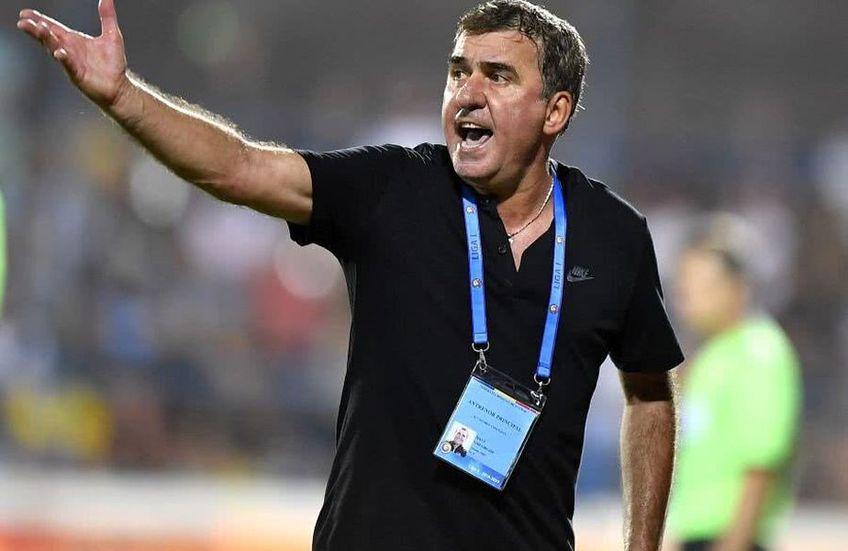 Viitorul lui Gică Hagi este pe primul loc în play-out-ul Ligii 1 (27 de puncte)