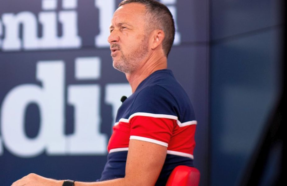 """Mihai Stoica în timpul emisiunii """"Prietenii lui Ovidiu"""""""