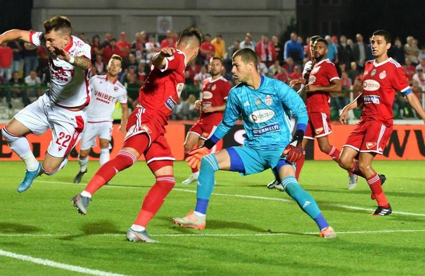 În sezonul regular, Sepsi și Dinamo și-au împărțit victoriile
