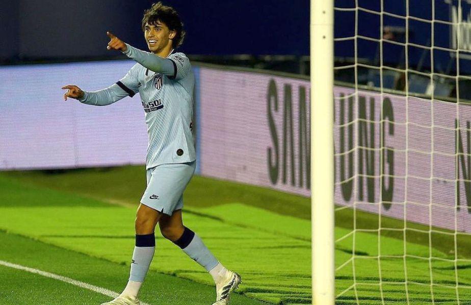 Joao Felix a marcat de două ori în Osasuna - Atletico 0-5 // foto: Instagram @ joaofelix79