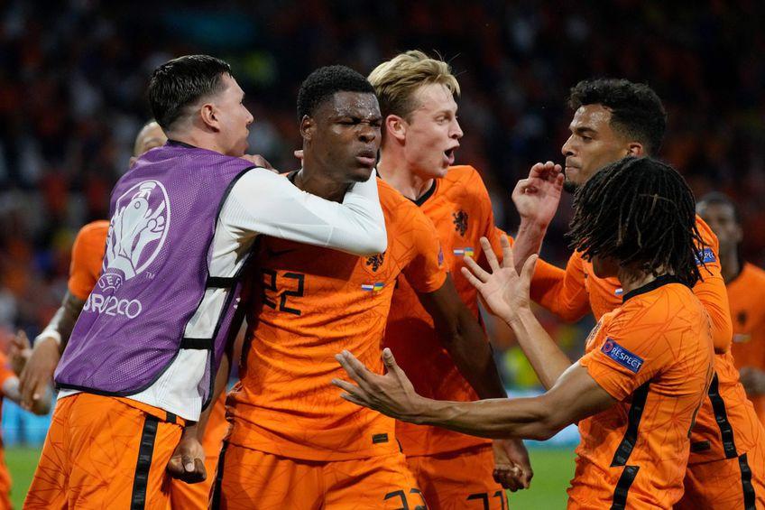 Denzel Dumfries, MVP și împotriva Ucrainei, și cu Austria, are două goluri în primele lui două meciuri la Euro 2020