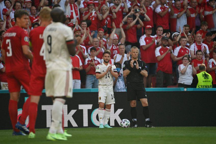Mesajul lui Eriksen după partida pierdută de Danemarca în fața Belgiei