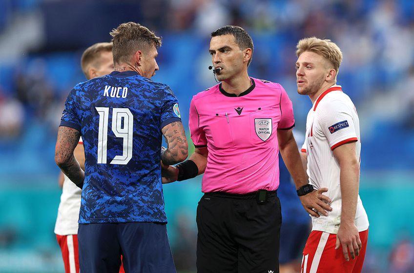 Ovidiu Hațegan va fi acum la centru la meciul Italia – Țara Galilor // FOTO: Guliver/GettyImages