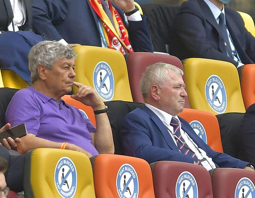 Mircea Lucescu influențează Euro și din tribună!