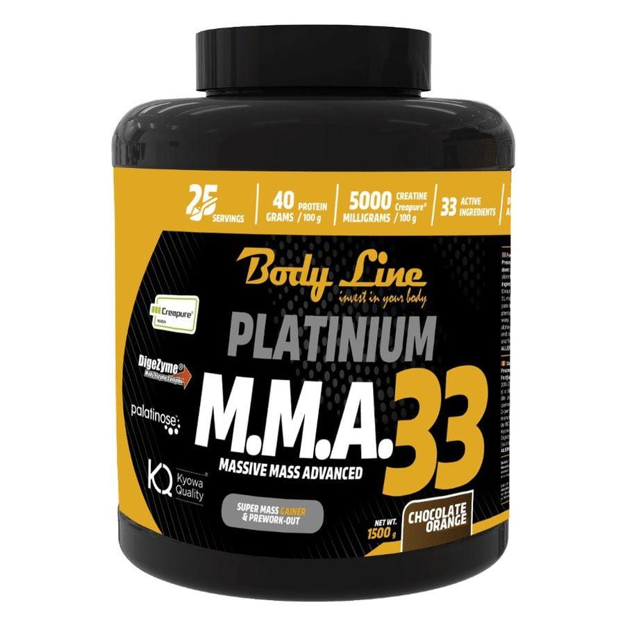 M.M.A 33 de la Body Line – supliment nutritiv pentru masă musculară rapidă.