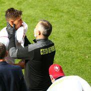 Năprasnicul Patrik Schick a oferit imaginea zilei la EURO 2020. Sursă foto: Imago Images