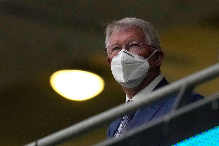 Sir Alex Ferguson (79 de ani), unul dintre cei mai mari antrenori din istoria fotbalului, a avut probleme înaintea derby-ului britanic de la Euro 2020, Anglia - Scoția.