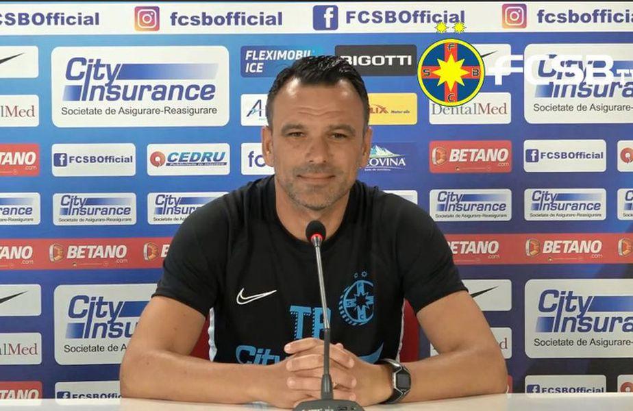 Toni Petrea va debuta la FCSB azi, în partida cu CFR Cluj