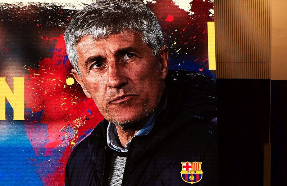 Quique Setien, antrenor Barcelona, foto: Guliver/gettyimages